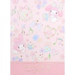 Bloco Notas My Melody x Miki Takei Flower Fairies