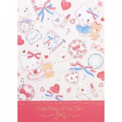 Bloco Notas Hello Kitty x Miki Takei Paris & Ribbon