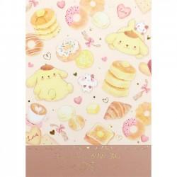 Pompom Purin x Miki Takei Fluffy Souffle Memo Pad