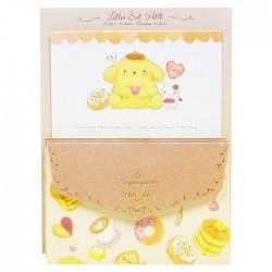 Mini Set Cartas Pompom Purin x Miki Takei Fluffy Souffle