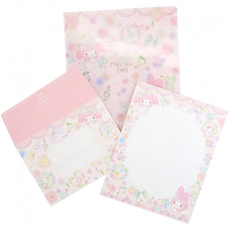 My Melody x Miki Takei Flower Fairies Letter Set