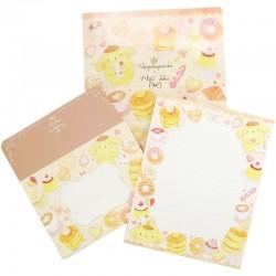 Pompom Purin x Miki Takei Fluffy Souffle Letter Set