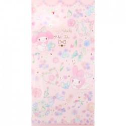 My Melody x Miki Takei Flower Fairies Ticket File