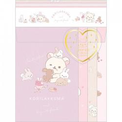 Korilakkuma & Tiny Bunnies Ticklish Letter Set