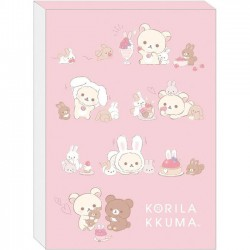 Bloc Notas Korilakkuma & Tiny Bunnies