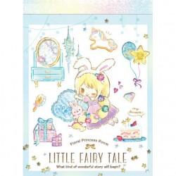 Mini Bloc Notas Little Fairy Tale Princess Room Rapunzel
