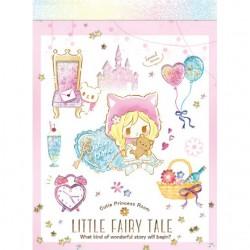 Mini Bloc Notas Little Fairy Tale Princess Room Red Riding Hood