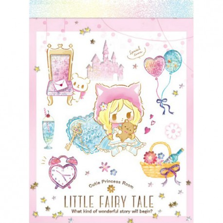 Little Fairy Tale Princess Room Red Riding Hood Mini Memo Pad