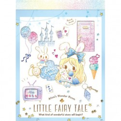 Little Fairy Tale Princess Room Alice Mini Memo Pad