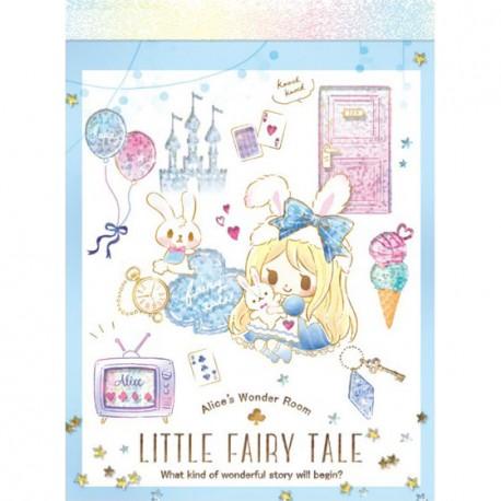 Little Fairy Tale Princess Room Alice Mini Memo Pad