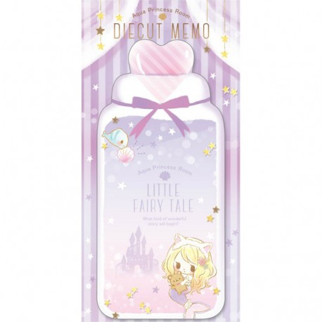 Little Fairy Tale Princess Room Ariel Die-Cut Memo Pad