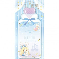 Little Fairy Tale Princess Room Alice Die-Cut Memo Pad