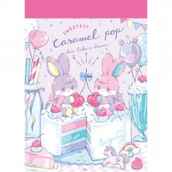 Caramel Pop Sweetest Mini Memo Pad
