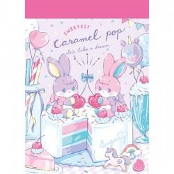 Mini Bloc Notas Caramel Pop Sweetest