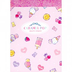 Caramel Pop Fruity Sweets Mini Memo Pad