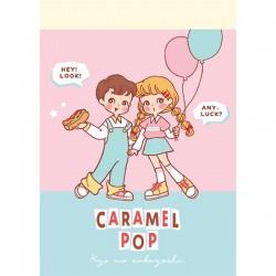Caramel Pop Retro Mini Memo Pad