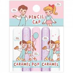 Caramel Pop Retro Pencil Caps