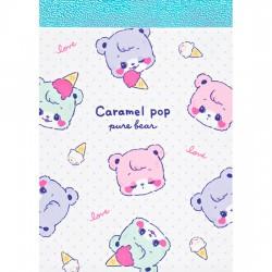 Caramel Pop Pure Bear Mini Memo Pad