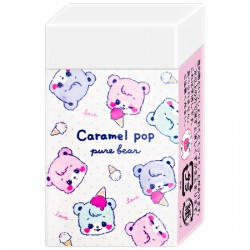 Caramel Pop Pure Bear Eraser