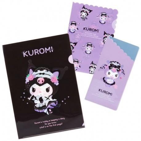Kuromi Tsundere Cafe File Folders Set
