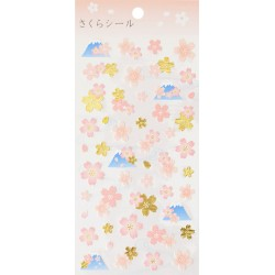 Fuji Sakuras Stickers