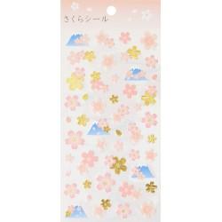 Stickers Fuji Sakuras