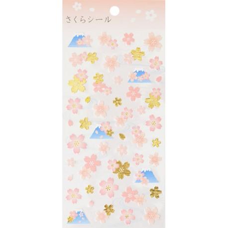 Fuji Sakuras Stickers