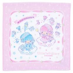 Little Twin Stars 45th Anniversary Pink Mini Towel