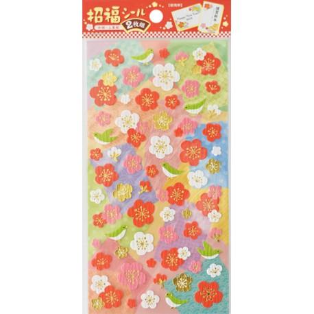 Sakuras & Birds Stickers