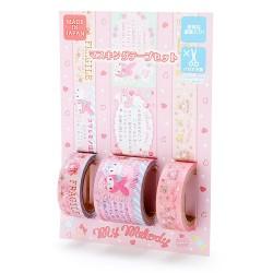 Thank You My Melody Washi Tapes Set
