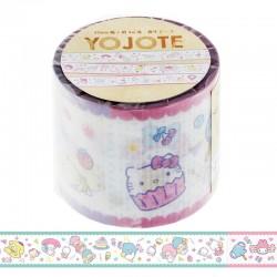 Deco Tape Yojo Sanrio Characters Sweets
