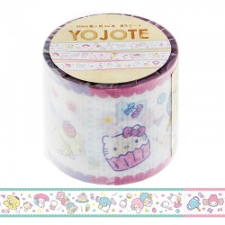 Yojo Sanrio Characters Sweets Deco Tape