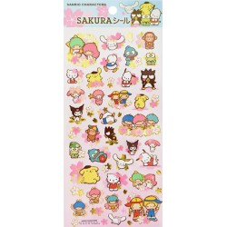 Pegatinas Sakura Sanrio Characters