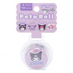 Peta Roll Kuromi Peel-Off Washi Tape