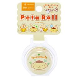 Washi Tape Peel-Off Peta Roll Pompom Purin