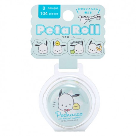 Peta Roll Pochacco Peel-Off Washi Tape