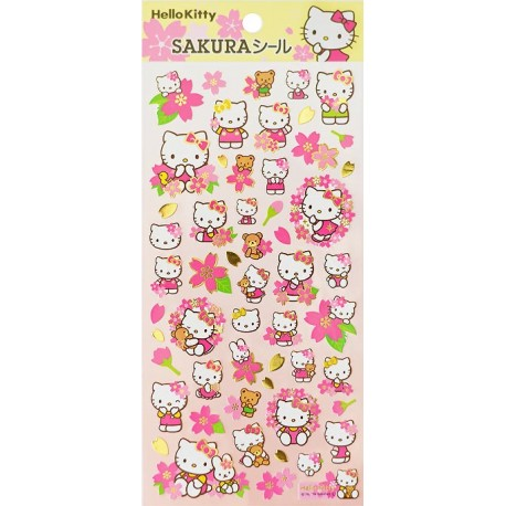 Stickers Sakura Hello Kitty
