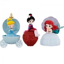 Disney Princess Heroine Doll Stories Capchara Figure 3 Gashapon