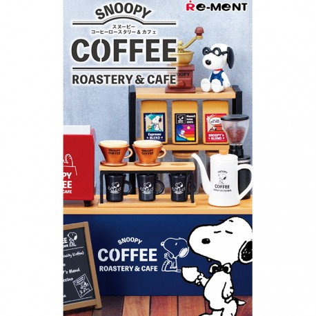 Re-Ment Snoopy Coffee Roastery Blind Box