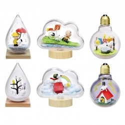 Re-Ment Snoopy Weather Terrarium Blind Box