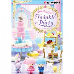 Little Twin Stars Twinkle Party Re-Ment