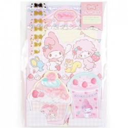 My Melody Parlor Letter Set