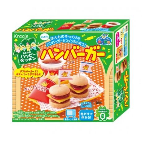 Popin' Cookin' DIY Kit Hamburger - Kawaii Panda - Making ...