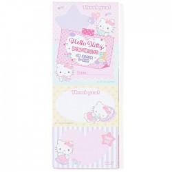 Bloc Notas Thank You Hello Kitty