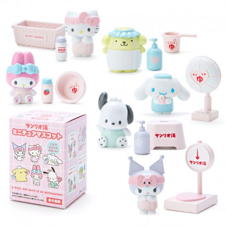 Sanrio Characters Onsen Miniatures Blind Box