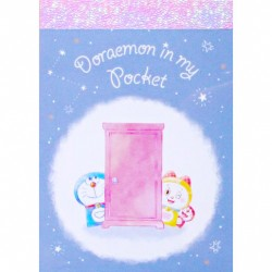 Doraemon In My Pocket Door Mini Memo Pad