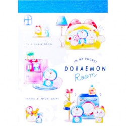 Doraemon In My Pocket Room Mini Memo Pad