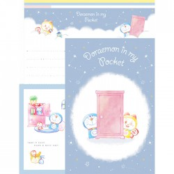Doraemon In My Pocket Letter Set