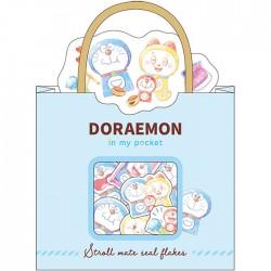 Doraemon In My Pocket Stroll Mate Stickers Sack