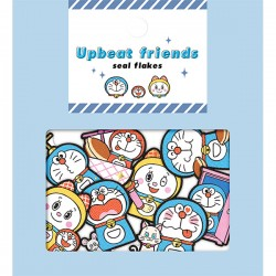 Bolsa Pegatinas Upbeat Friends Doraemon
